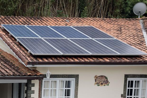 Sistema fotovoltaico (Foto: Leonardo Lemos/Autoesporte)