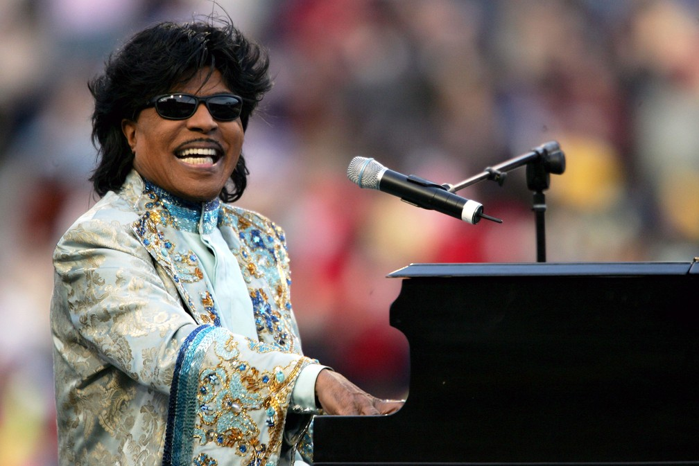 Little Richard, em foto de dezembro de 2004 — Foto: Chris Stanford/Getty Images North America/AFP/Arquivo
