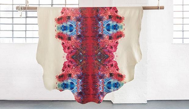 London Design Festival 2018: Tom Dixon lança coleção de couro com  estampas digitais inesperadas (Foto: Divulgação)