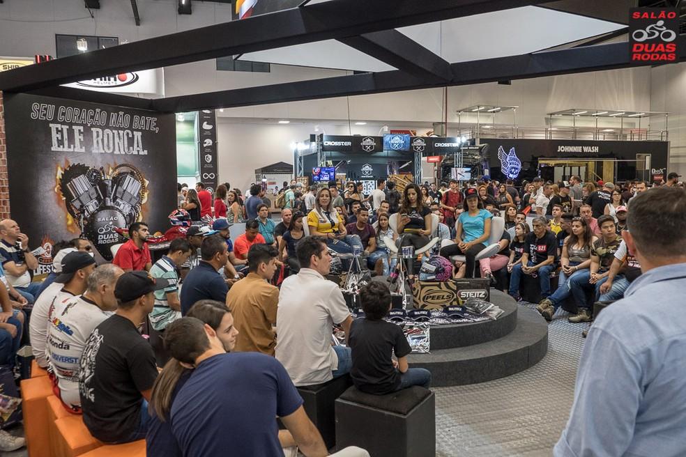 Arena Lifestyle at the 2017 edition of Salão Duas Rodas - Foto: Divulgação