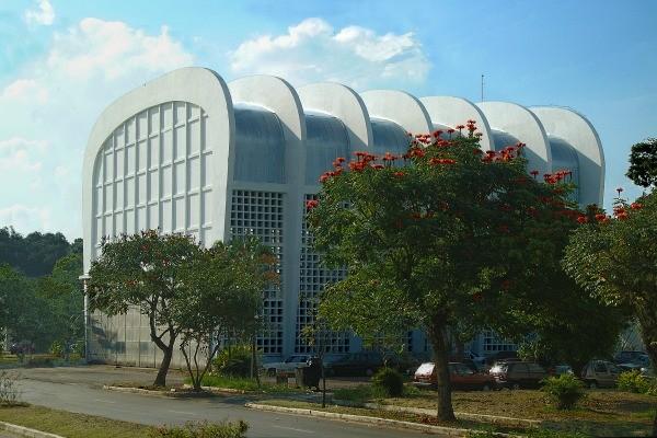 Laboratório de Estruturas do ITA (Instituto Tecnológico de Aeronáutica) (Foto: Divulgação)