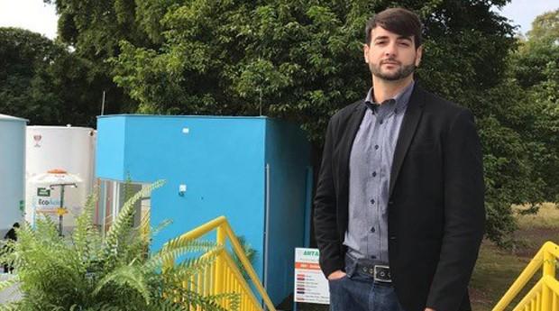 O engenheiro Davi Trindade é diretor da Antares (Foto: Divulgação)