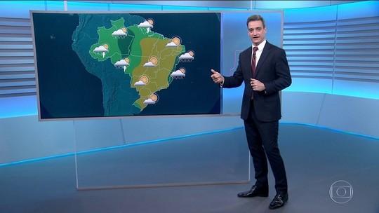 Veja como fica o tempo no domingo em todo o Brasil