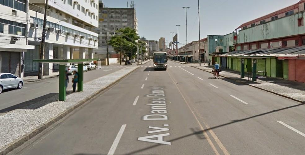 Avenida Dantas Barreto fica no Centro do Recife — Foto: Reprodução/Google Maps