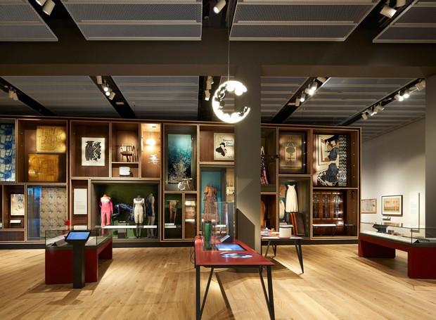 No interior, exposições fixas e temporárias serão fornecidas aos espectadores (Foto: Hufton + Crow/ Reprodução)