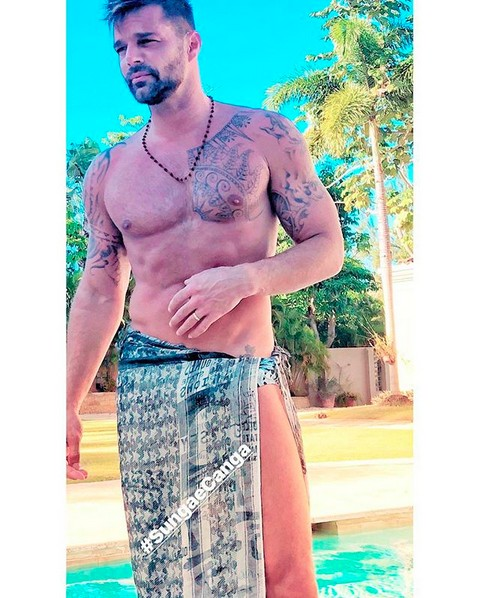 O cantor Ricky Martin (Foto: Instagram)