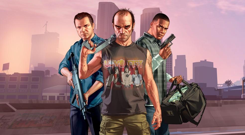 GTA 5 está de graça na Epic Games Store — Foto: Divulgação/Rockstar