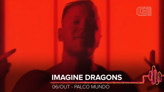 Imagine Dragons é atração do Rock in Rio 2019 mais ouvida no mundo; veja ranking