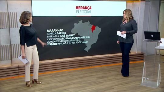 Herança familiar eleitoral é prática comum no Brasil