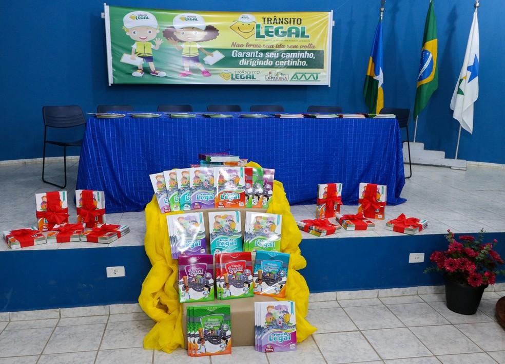 -  Projeto Trânsito Legal foi lançado nesta sexta-feira, 15  Foto: Semed/Divulgação