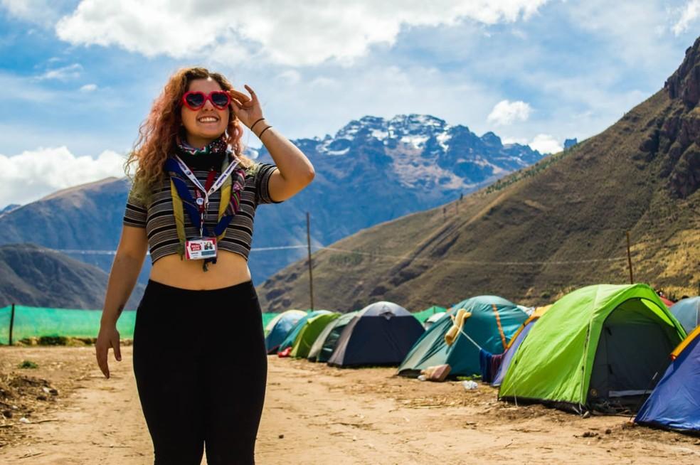 Nathalia Lourenço vai viajar para um lugar mais tranquilo neste Carnaval — Foto: Arquivo pessoal
