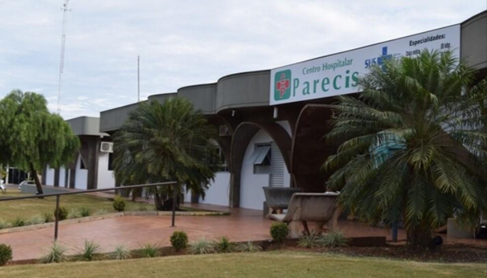 Situação ocorreu no Centro Hospitalar Parecis Euclides Horst, em Campo Novo do Parecis — Foto: Facebook/Reprodução