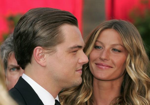 Gisele Bündchen e Leonardo DiCaprio (Foto: Getty Images)
