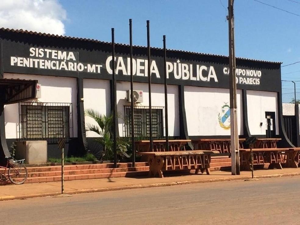 Cadeia Pública de Campo Novo do Parecis (Foto: Portal Campo Novo)