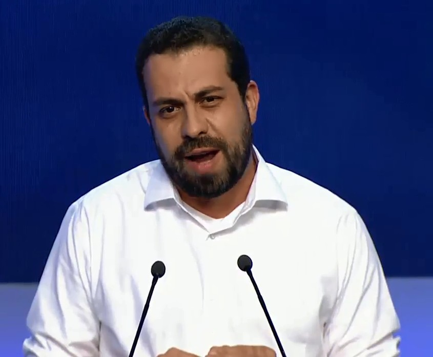 Guilherme Boulos, candidato do PSOL