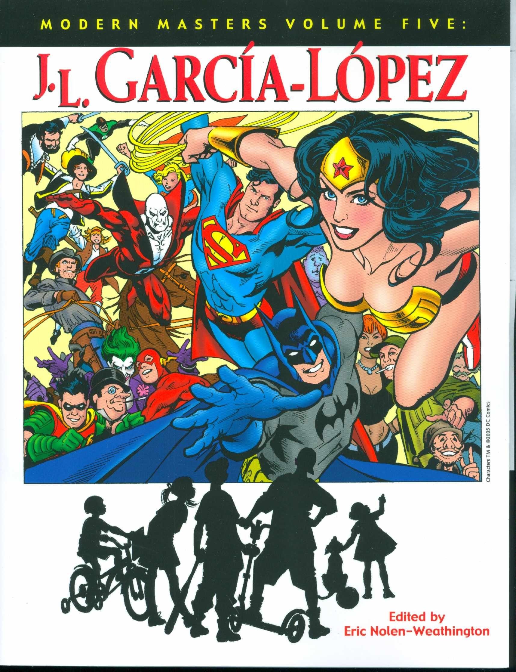 Livros sobre a carreira de José Luis García-López (Foto: Divulgação)