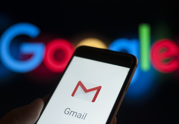 Gmail - google - celular - internet - email  (Foto: Jaap Arriens/NurPhoto via Getty Images)