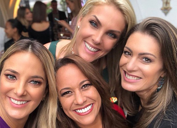 Ticiane Pinheiro, Renata Alves, Ana Hickmann e Elaine Mickely (Foto: Reprodução/ Instagram)