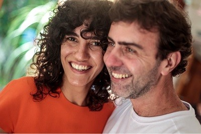 Antonia Pellegrino e Marcelo Freixo