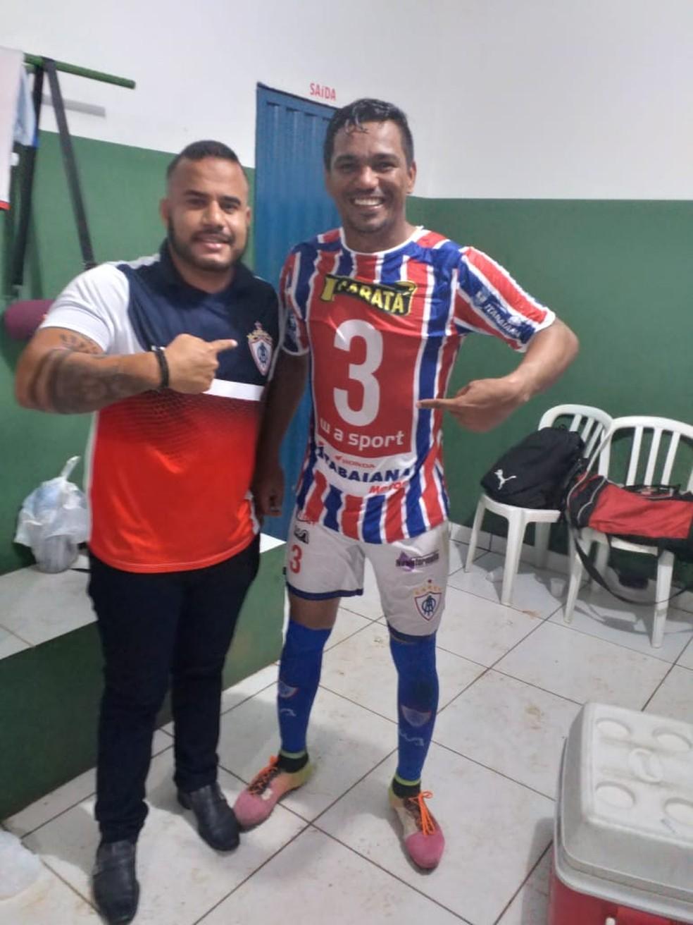 2630ba6f6 ... Berto foi o nome do jogo contra o Interporto — Foto  Divulgação