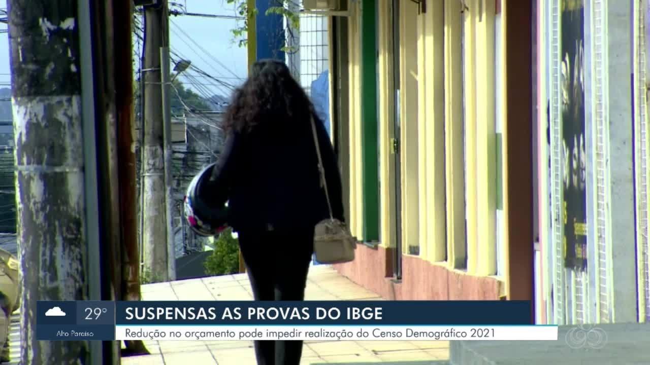 IBGE suspende provas para recenseadores e analistas supervisores