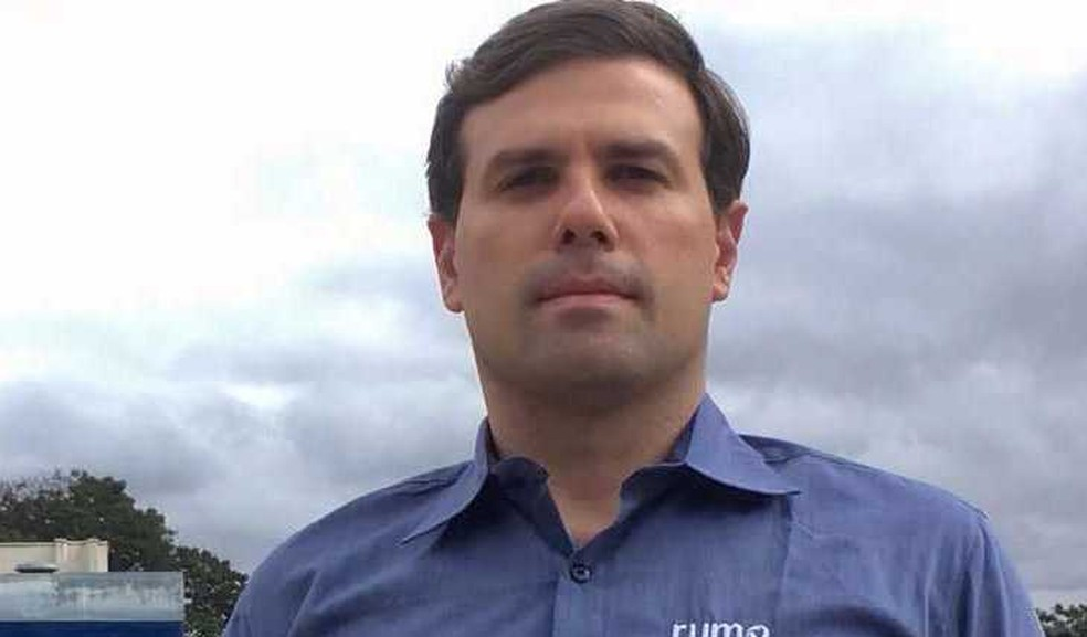 Sinue Brondi, gerente de estratégia operacional da Rumo (Foto: Divulgação/Rumo Logística)