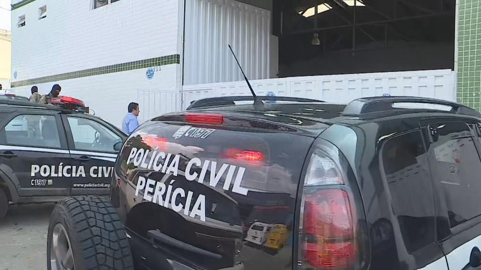 Empresa que seria fornecedora de monoetilenoglicol para a Backer é alvo de buscas — Foto: Reprodução/TV Globo