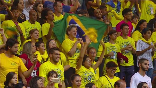 Brasil sofre, mas vence Azerbaijão no tie-break e fica a uma vitória de Tóquio 2020