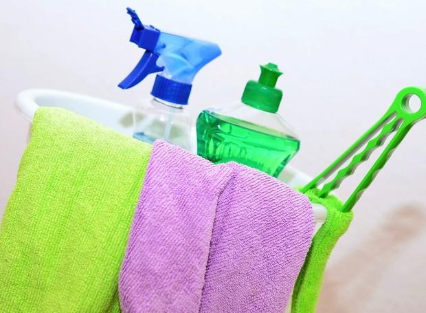 Confira as dicas para fazer uma boa faxina e facilitar a hora da limpeza de casa (Foto: Pixabay / Reprodução)