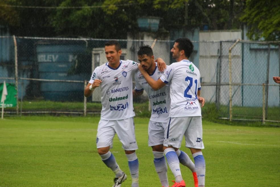 O Vitória-ES é o time de melhor campanha no Campeonato Capixaba até a paralisação — Foto: Vitor Nicchio