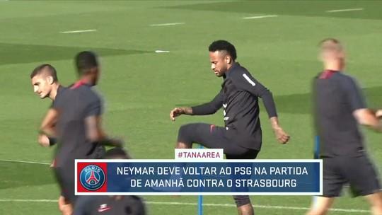 Neymar pode jogar pela primeira vez na temporada pelo PSG