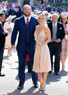 James Haskell e Chloe Madeley