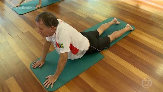 Corrida, musculação, balé e muita alegria: Seu Mauro dá aula de juventude aos 76