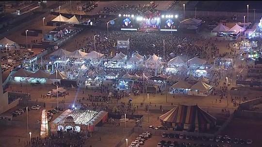Festa junina fora de época que leva milhares de pessoas à cidade de Ceilândia