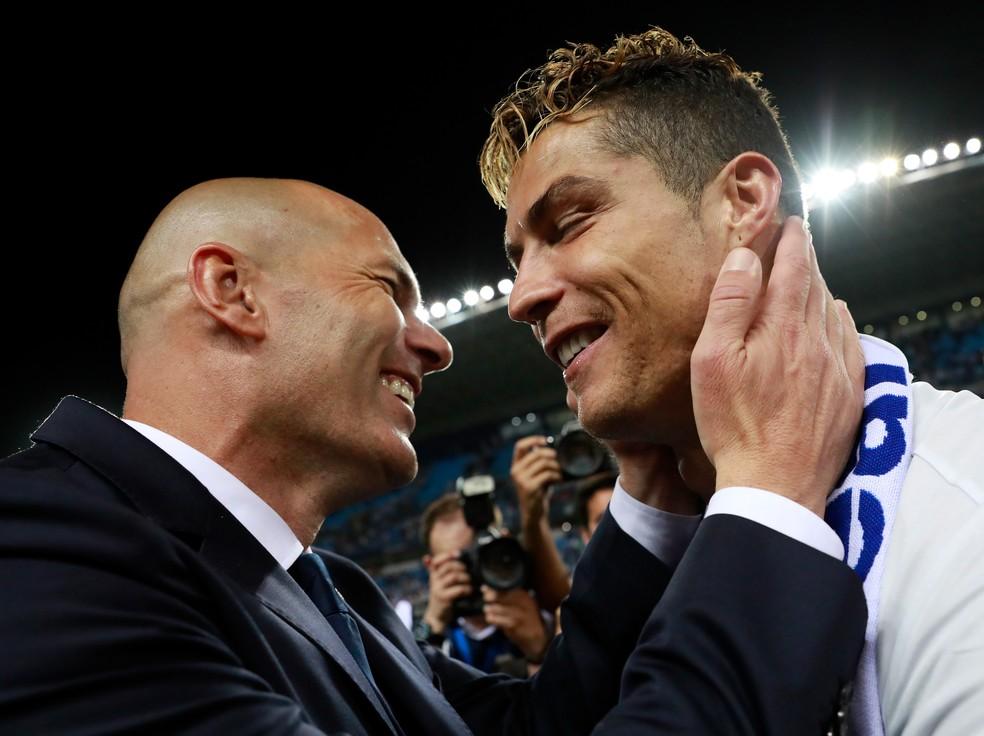 Zidane Cristiano Ronaldo Real Madrid (Foto: Getty Images)