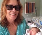 Maria Zilda Bethlem com a neta, Catharina | Arquivo pessoal