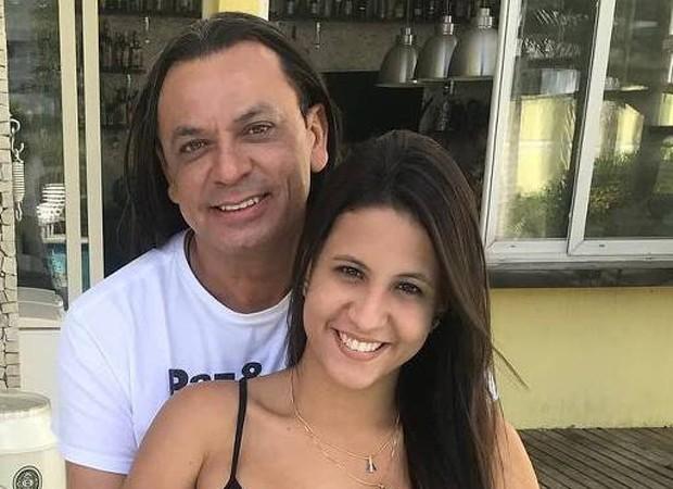 Frank Aguiar e a noiva, Carol Santos (Foto: Reprodução/Instagram)