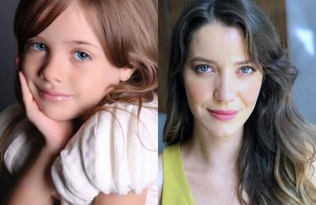 Maria Clara Baldon e Nathalia Dill darão vida a Fabiana. A menina, filha de Zenaide (Maeve Jinkings), também crescerá longe da família Reprodução Instagram