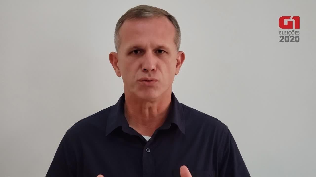 Coronel Nylton (Novo) fala sobre saúde em Vitória