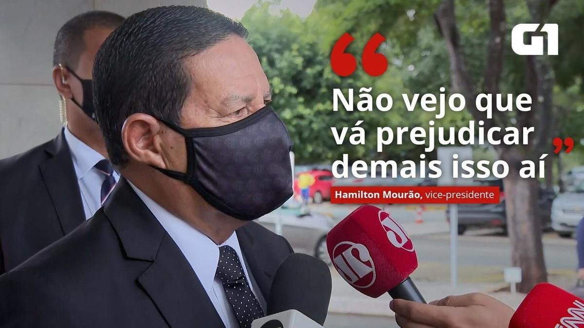 Mourão diz que troca na Petrobras é 'questão de confiança' e que mercado age como 'rebanho' thumbnail