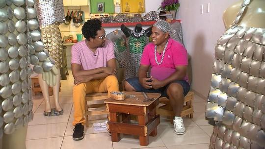 De pedreiro a estilista: conheça a história de Joel Souza