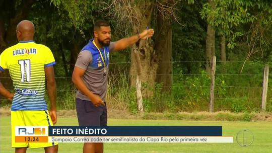 Sampaio Corrêa pode ser semifinalista da Copa Rio pela primeira vez