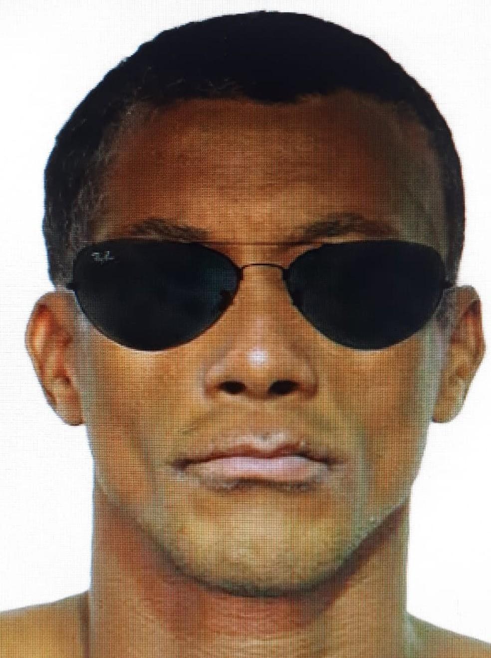 Retrato falado do estuprador chegou a ser divulgado pela Polícia Civil o que auxiliou os trabalhos de identificação (Foto: Polícia Civil de MT/Assessoria)