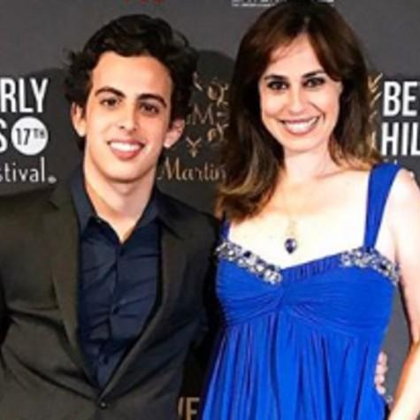Daniela Escobar com o filho, André Matarazzo (Foto: Reprodução/Instagram)