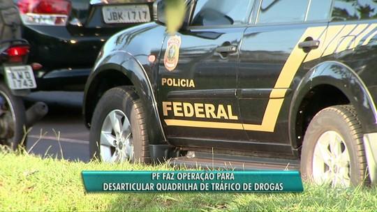 PF prende seis pessoas em operação contra organização criminosa suspeita de tráfico internacional de drogas no Paraná