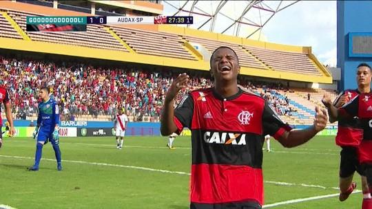 Parceiro de Vinícius Jr e Lincoln, Bill decide no Flamengo sub-20