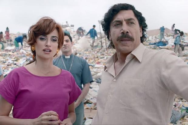 Penélope Cruz e Javier Bardem em Loving Pablo (Foto: reprodução )