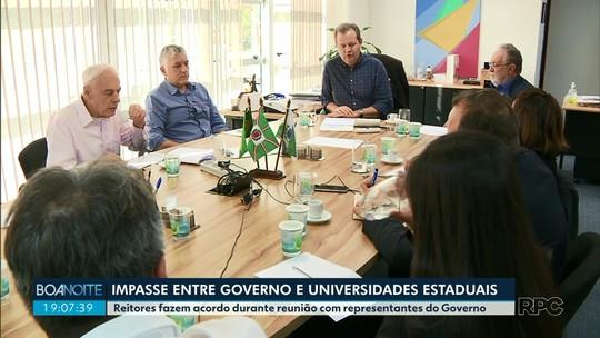 Universidades estaduais do Paraná fecham acordo para esclarecer pagamentos feitos no 1º semestre