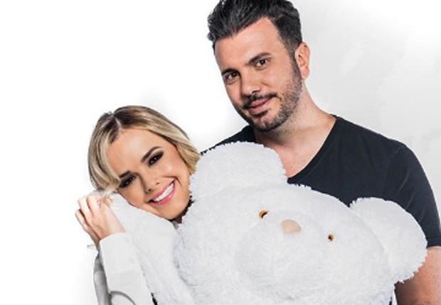 Thaeme e o marido, Fábio Elias (Foto: Reprodução/Instagram)