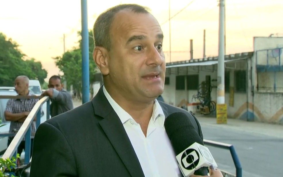 Prefeito de Belford Roxo, Waguinho — Foto: Reprodução / TV Globo